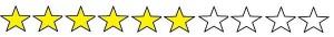 6 stars yellow